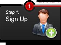 Step 1 - Sign up on MAXIM999.com